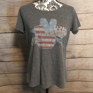 LAST CHANCE Lucky Brand Size M Fender Rock Tee